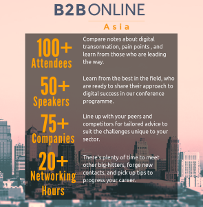 Summary of B2B Online Asia 2018
